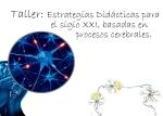 cartel estrategias didacticas 150
