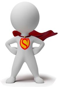 logo super heroe